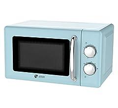Microondas vintage básico colores pastel (Rosa): Amazon.es: Hogar