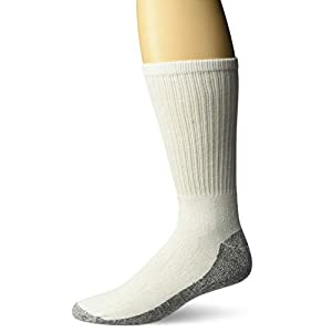 Dickies Men's All-Purpose Work Stain Resister Crew Socks (6/12 Packs)