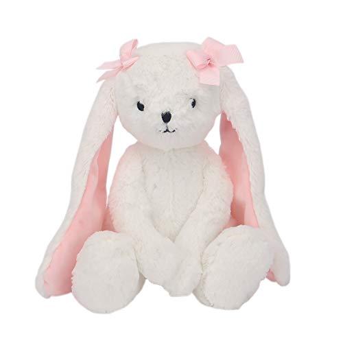 Bedtime Originals Blossom Plush Bunny Stuffed Animal Toy – Snowflake