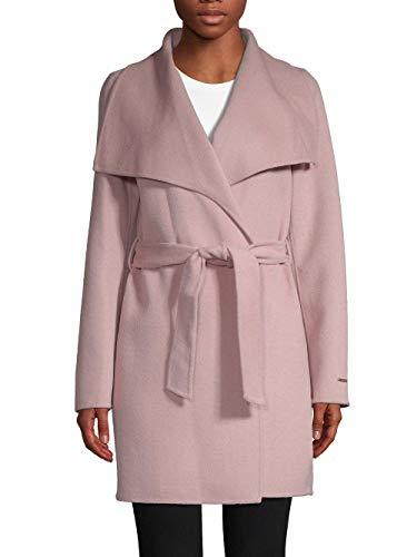 T Tahari Ella Coat Powder Pink (S)