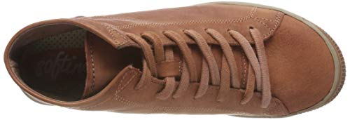Washed Collo Sneaker brick Softinos Donna 045 Braun A Alto Isleen qBn5xHCxwf