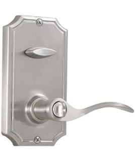 weslock l1405un0020 lexington series entry handle satin nickel - Weslock