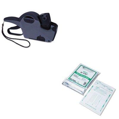 KITCOS090939QUA45224 - Value Kit - Garvey Pricemarker Model 22-7 (COS090939) and Quality Park Poly Night Deposit Bags w/Tear-Off Receipt (QUA45224)
