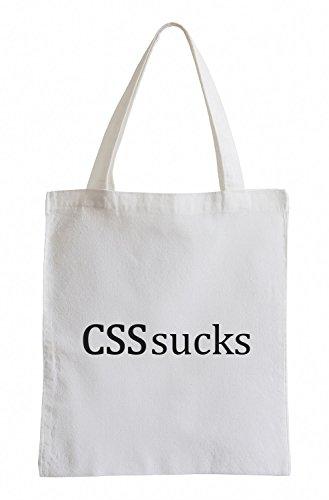 CSS sucks Computer Software Fun Jutebeutel