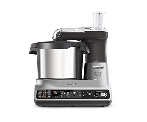 Kenwood kCook Multi Smart CCL450SI Robot de Cocina Multifunción con Wifi Controlable con una App desde el Móvil, con…
