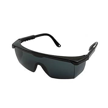 Brookstone Aviator Style Safety Glasses Black Amazon Co Uk Sports