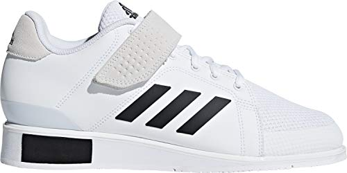 adidas Power Perfect III Weightlifting Shoes - White-8.5