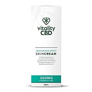 Vitality CBD Skin Cream 300mg CBD, 100ml