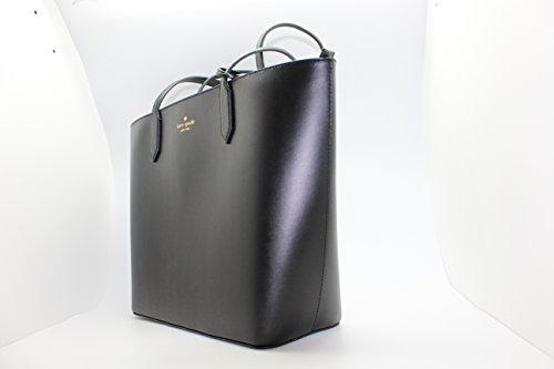 Kate Spade Lucia Bell Street Top Zip Shoulder Tote Bag Black by Kate Spade New York (Image #2)