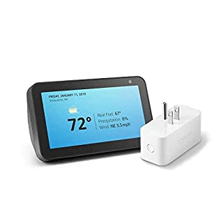 Echo Show 5 Charcoal with Amazon Smart Plug