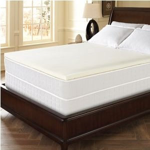 Dream Serenity Memory Foam 1.5'' Comfort Topper Twin Size by Dream Serenity
