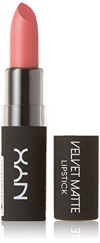 NYX Professional Makeup Velvet Matte Lipstick, Effervescent, 0.14 Ounce