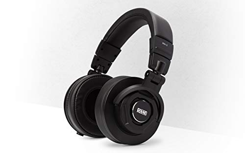 Rane RH-2 – 50mm Full Response, High-Fidelity Over-Ear Headphones with Fully Collapsi-ble Design, Detachable Cables, 1/8…