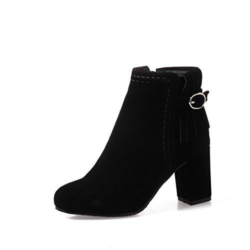 BalaMasa Abl10122 Sandales Compensées Femme Noir, 37.5 EU, ABL10122
