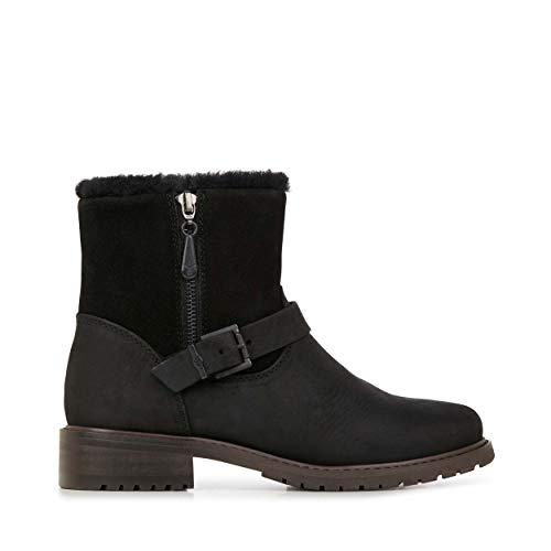 EMU Australia Roadside Womens Deluxe Wool Waterproof Boots Charcoal