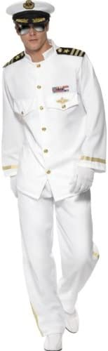 Smiffys Men's Captain Deluxe Costume