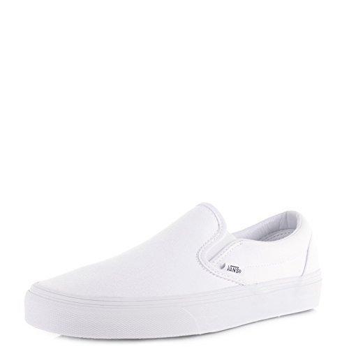 Vans - Mocasines para Hombre Blanco Blanco: Amazon.es: Zapatos y complementos