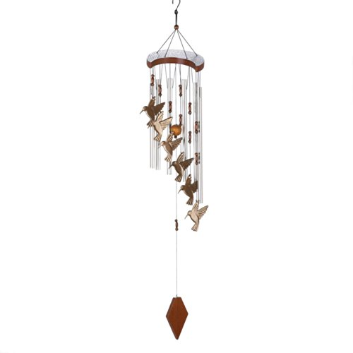 - Home Locomotion Hummingbird Cascading Windchime