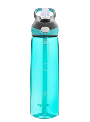 Contigo AUTOSPOUT Straw Addison Water Bottle, 24 oz, Ocean