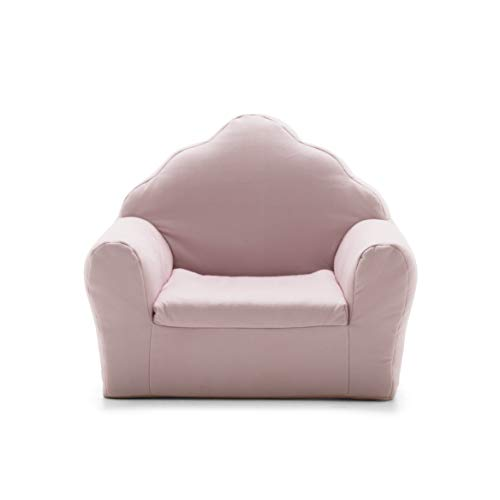 (Big Joe 1595663 Art Deco, Lenox Morganite Pink Kid's Chair,)