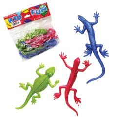 Stretchy Lizard Toys, 1 Dozen, Assorted ()