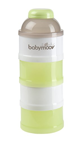 Babymoov Baby Formula Dispenser - 4 Stackable Compartments from Babymoov