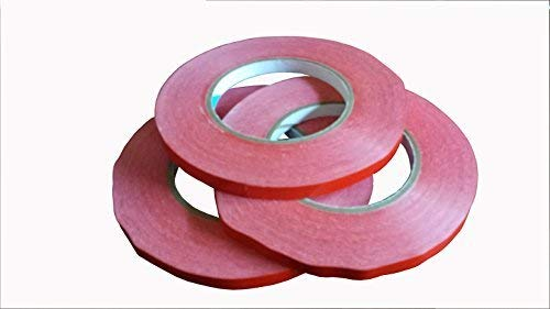Bag Sealer Tape, Red, 3/8