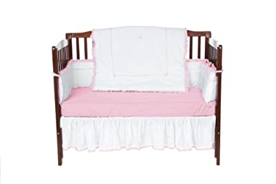 Baby Doll Unique Crib Bedding Set Pink from Baby Doll