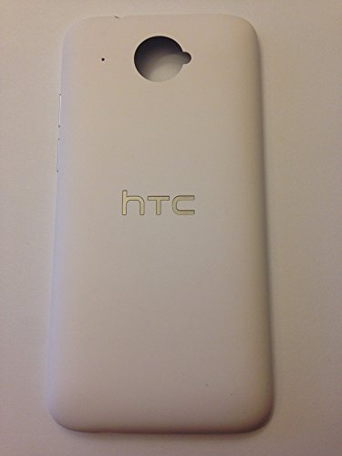 New OEM HTC Desire 601 White Battery Door Cover Housing Replacement O4L (Includes Side Buttons) (Htc Cell Phones For Metro Pcs)