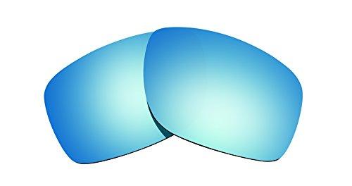 Brand New 1.5mm Littlebird4 Polarized Replacement Lenses for Oakley Canteen (2014) Sunglasses - Multiple Options (Ice Blue - Canteen Oakley Replacement Lenses