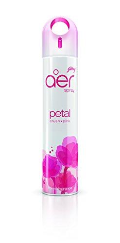 Godrej aer Home Air Freshener Spray – 300 ml (Petal Crush Pink)