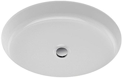 TOTO LT233#01 Atherton Oval Undercounter Lavatory, 19 x 15-Inch, Cotton White ()