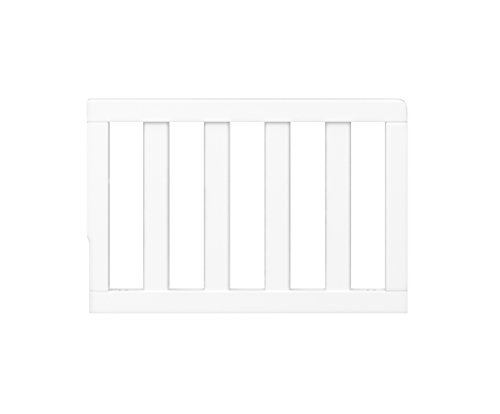 Graco Toddler GuardRail, White, Safety Guard Rail for Convertible Crib & Toddler Bed, White