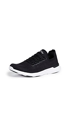 APL: Athletic Propulsion Labs Women's Techloom Breeze Sneakers, Black/Black/White, 9 M US