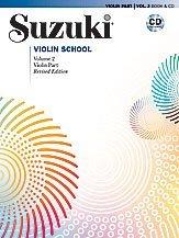 Suzuki Violin School Revised Edition Violin Part Book & CD Volume 2