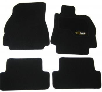 Renault Megane Mk2 (2002-2008) Tailored Black Car Mats