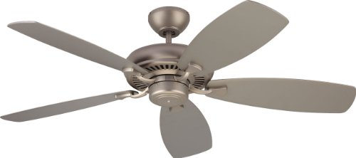 Monte Carlo 5DM52BP 5DM52BP-Designer Max Ceiling Fans, 52 inches, Brushed - Pewter Brushed 52 Fan Ceiling