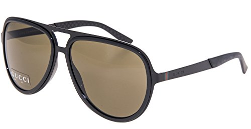 Gucci GG 2274/S 003EJ (Matt Black with Black - Gucci Aviator Matte Sunglasses Black