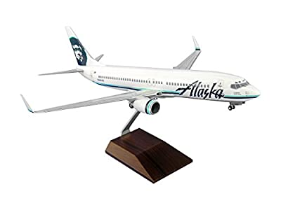 Daron Worldwide Trading SKR8007 Skymarks Alaska B737-800 1/100 Model Kit