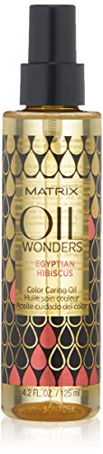 Matrix Oil Wonders Egyptian Hibiscus Color Caring Oil for Color Treated Hair, 4.2 Fl. Oz. ()