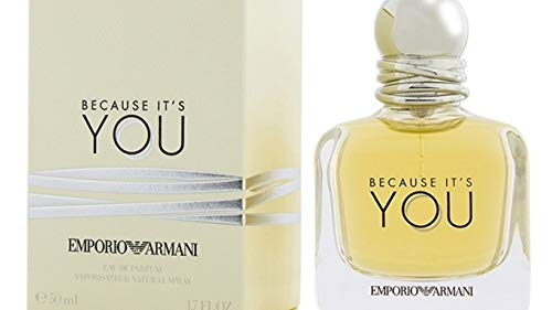 Emporio Armani Because It's You Eau De Parfum 1.7 Ounce (Woman Parfum Armani Emporio)