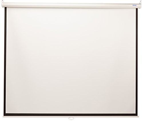 - 84INX84IN Model B Manual Pull Down Screen Matte White (Discontinued by Manufacturer)