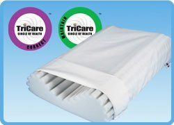 Econo Wave Neck Support Pillow 22 x 15 by Core -