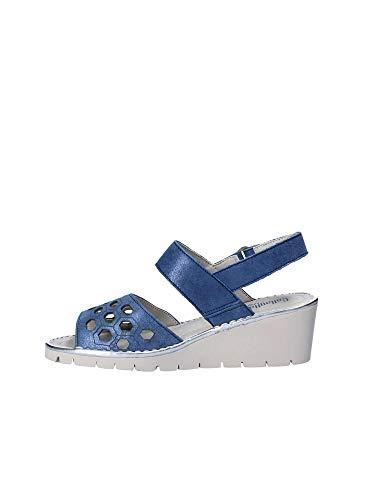 Bleu 39 Callaghan Compensées 11109 Sandales Femmes nxHSf
