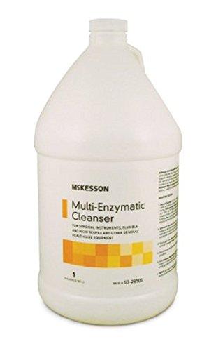 McKesson - Multi-Enzymatic Instrument Detergent - Liquid - 1 Gallon - Jug - Eucalyptus - Spearmint Scent