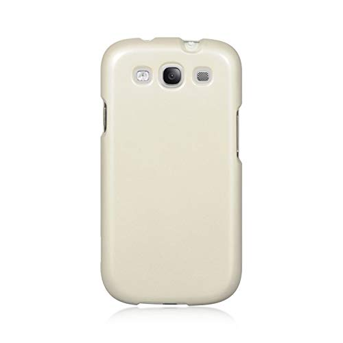 Insten Rubberized Hard Snap-in Case Cover Compatible with Samsung Galaxy S3 GT-i9300, Clear