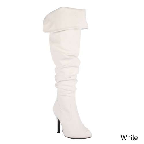 Stylish on High Forever Pull Womens 33 Boots Fashion Over Focus Link Sexy Knee OqpOBg