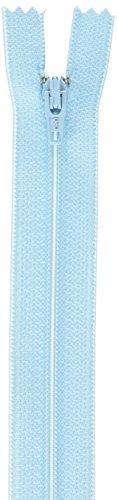Coats: Thread & Zippers All-Purpose Plastic Zipper, 7-Inch, ICY Blue