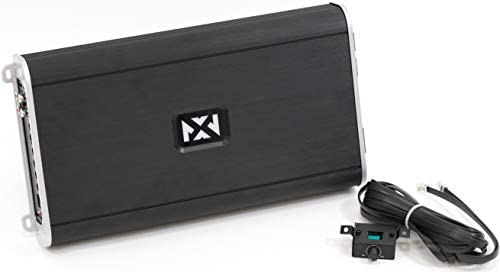 NVX VAD270012700W RMS Class D Monoblock CarMarinePowersports Amplifier with Bass Remote Marine Certified