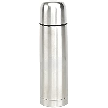 Thermos Bottle, 17 Oz BuyAgain Double Wall Stainless Steel Insulated Beverage Thermos Vacuum Flask Bottle With Screw Top & Leak Proof.